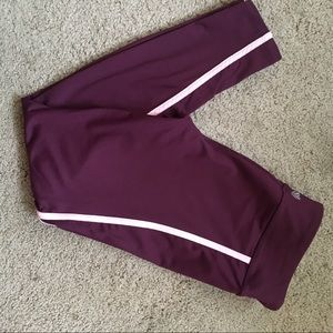 F21 Purple Workout leggings